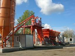 Б/У мобильный бетонный завод Wiggert Mob 80 м3/ч Германия