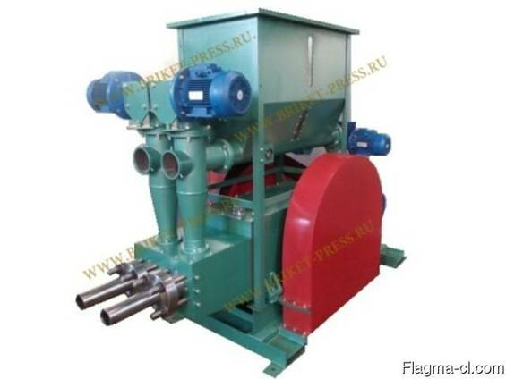 Briquette mechanical machine PBU-400/800 for briquettes Nest