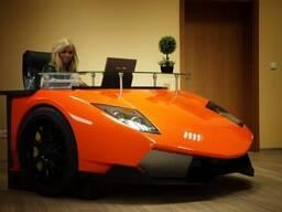 Racing desks Lamborghini Murciélago created by Frost Design